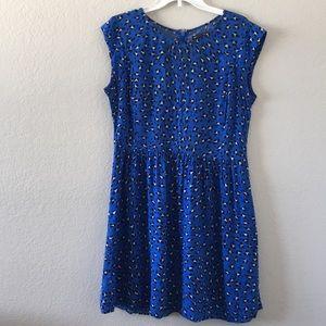 Gap cheetah dress